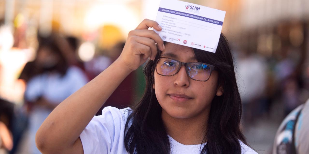 Sinaí Párraga, una joven con iniciativa y compromiso