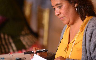 Noemy Claros Ustarez en Mujeres por la Ciudadanía y la Equidad