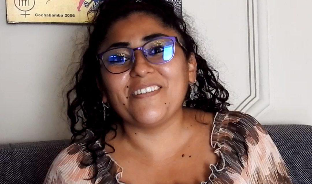 Noelia Maldonado, lideresa del municipio de Colcapirhua