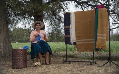 Talento de mujer boliviana